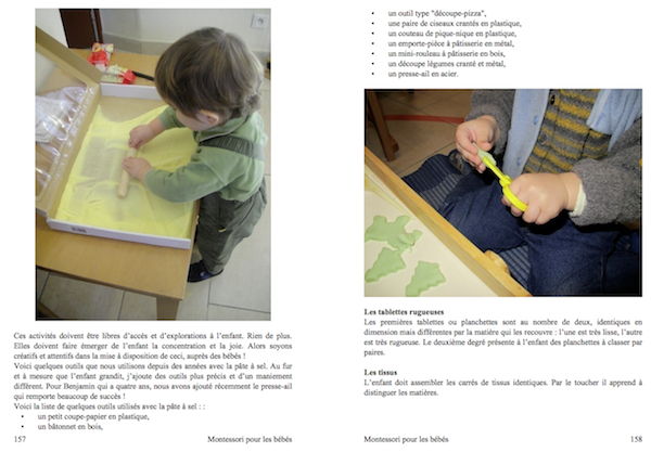 nouveau livre montessori pour les b b s presque pr t blog b b montessori. Black Bedroom Furniture Sets. Home Design Ideas